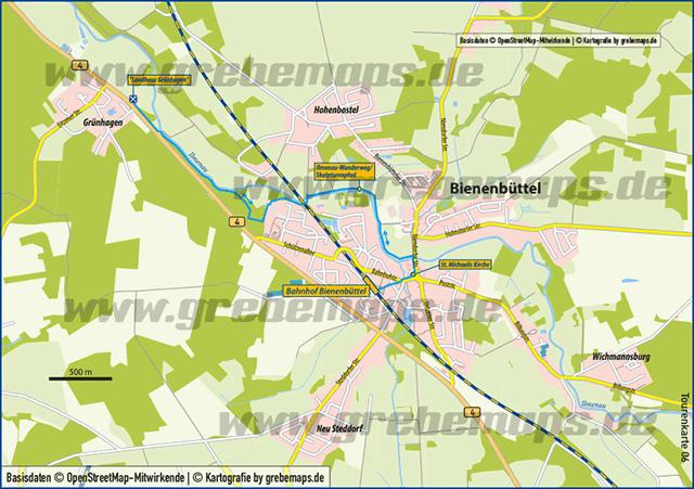 Karte Bienenbüttel (TM)