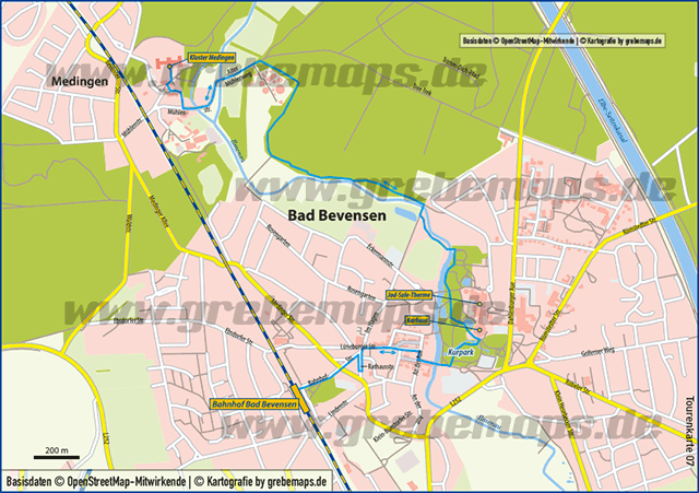 Karte Bad Bevensen (TM)