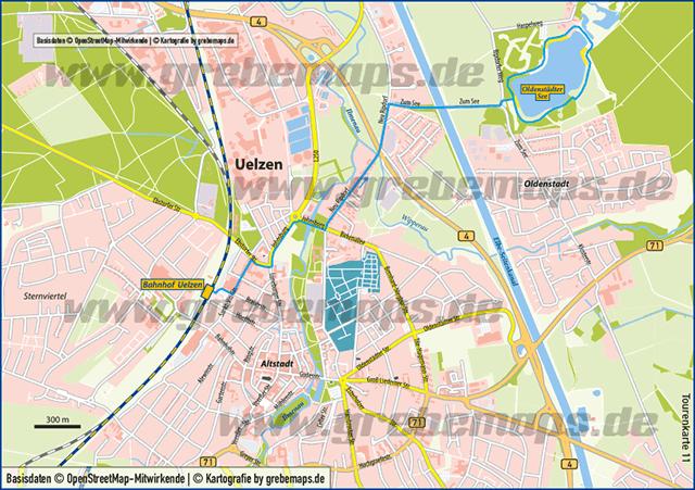 Karte Uelzen (TM)