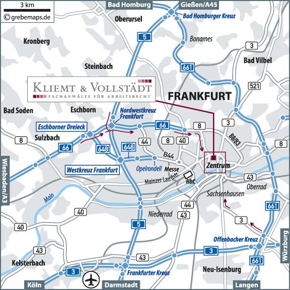 Karte Frankfurt Übersicht (KV)