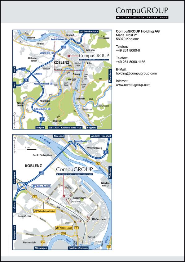 Anfahrtsplan erstellen Koblenz