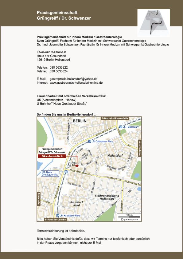 Lageplan Erstellen Karte Berlin-Hellersdorf