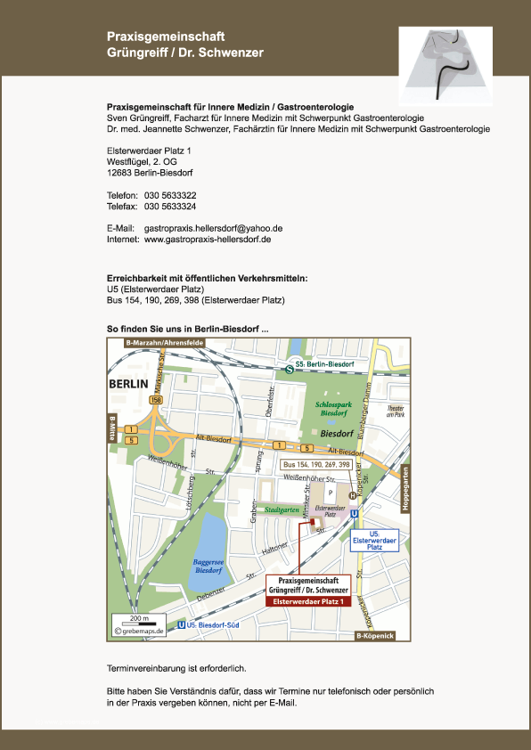 Lageplan erstellen Karte Berlin-Biesdorf