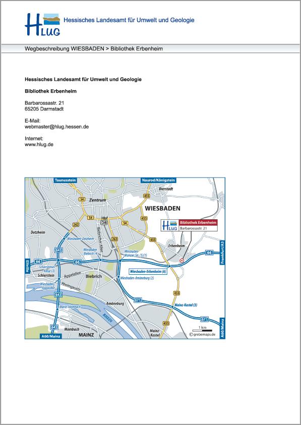 Karte Darmstadt (HLUG)