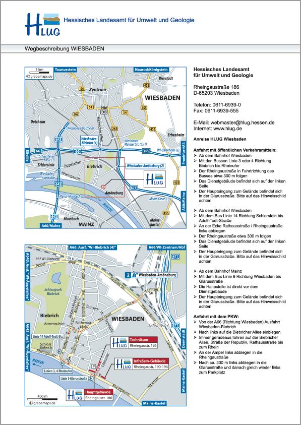 Karte Wiesbaden (HLUG)