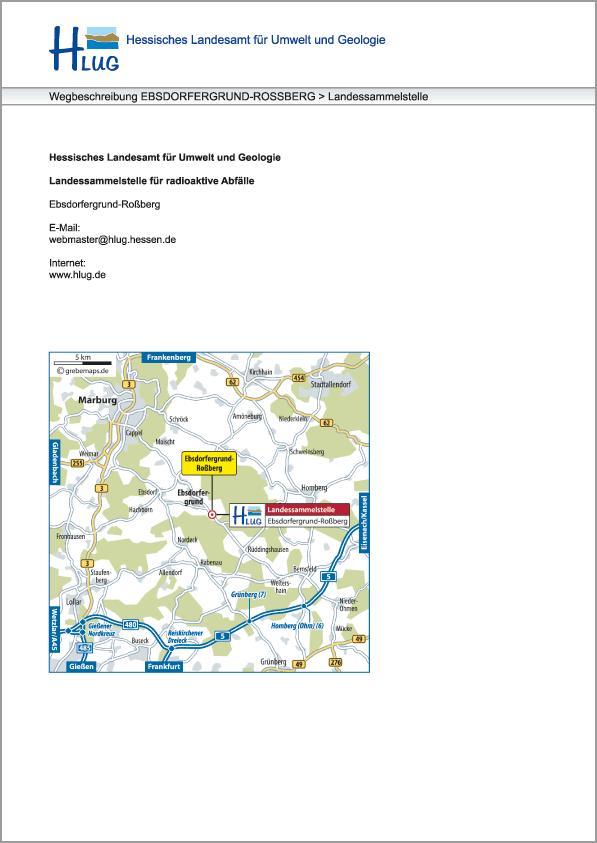 Karte Ebsdorfergrund-Roßberg (HLUG)