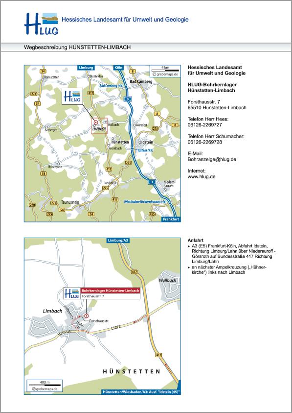 Karte Hünstetten-Limbach (HLUG)