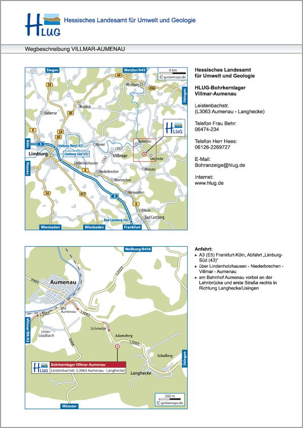Karte Villmar-Aumenau (HLUG)
