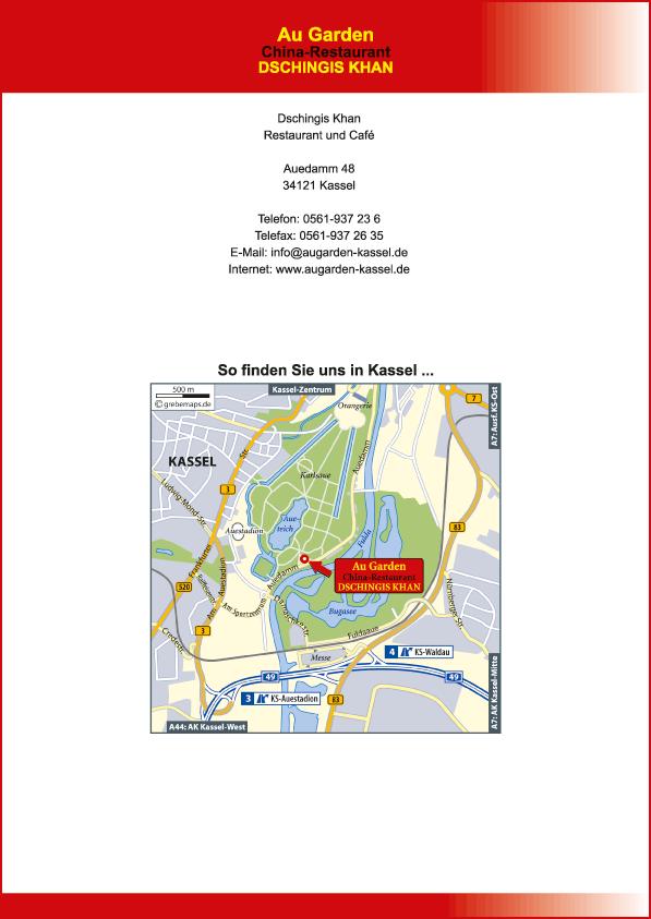 Karte Kassel (DK)