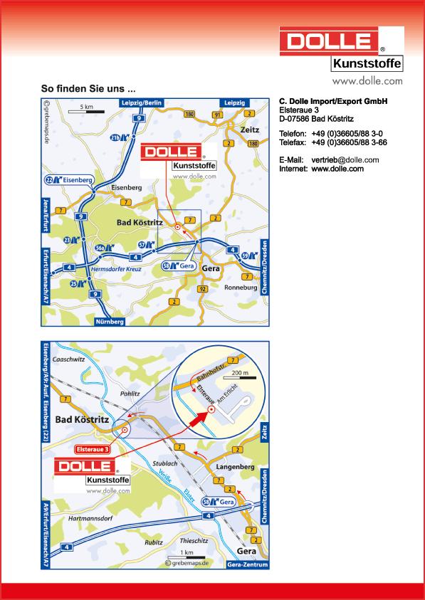 Karte Bad Köstritz (DK)