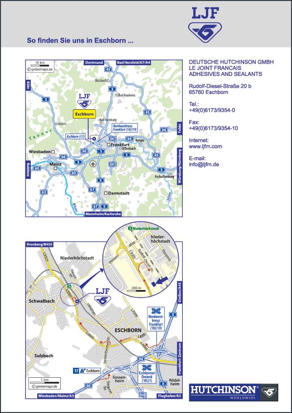 Karte Eschborn (DH)