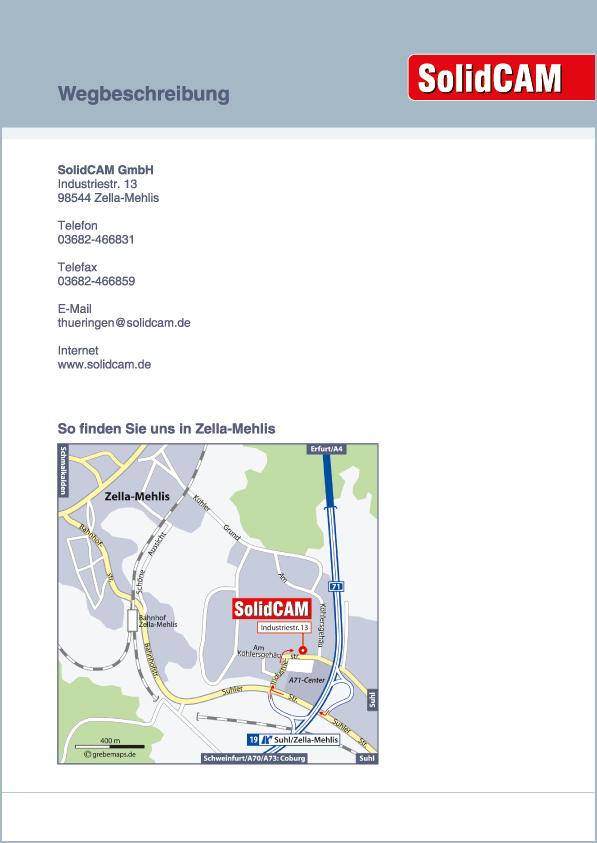 Karte Zella-Mehlis (SolidCAM)