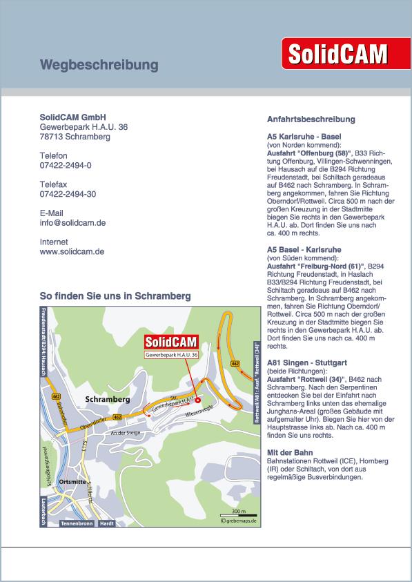Karte Schramberg (SolidCAM)