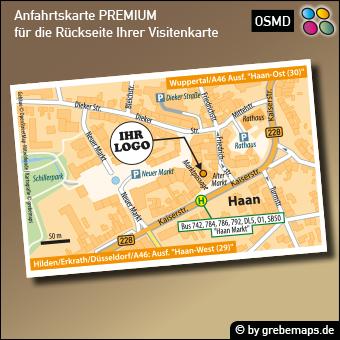 KARTE für Visitenkarte