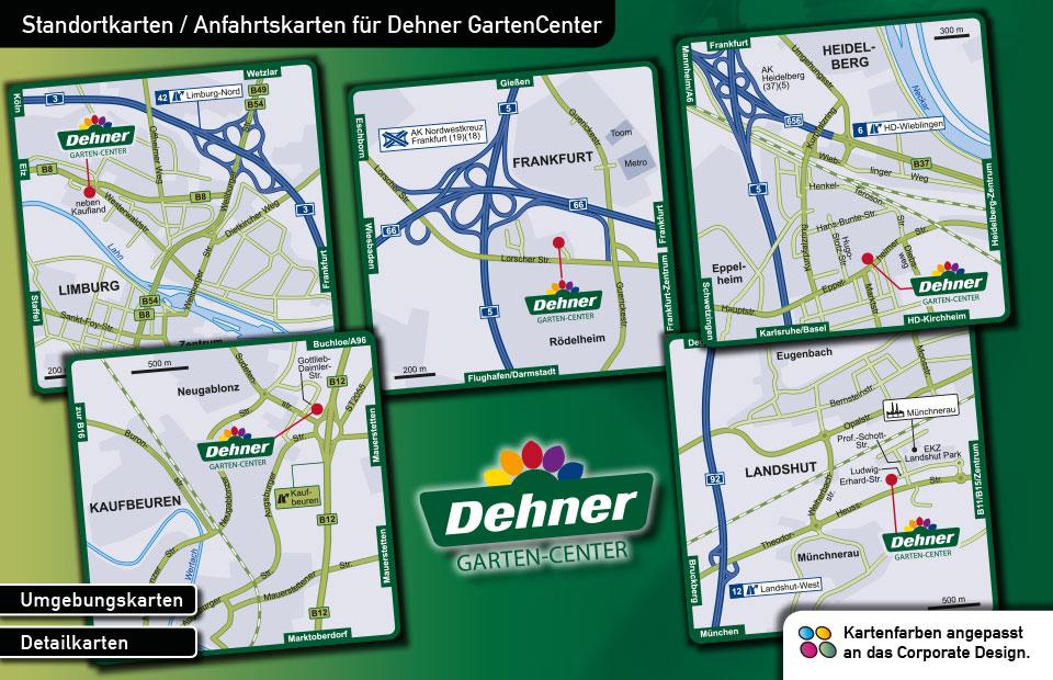 Standortkarten Dehner GartenCenter