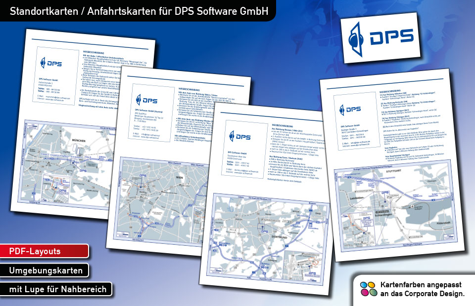 Standortkarten DPS Software