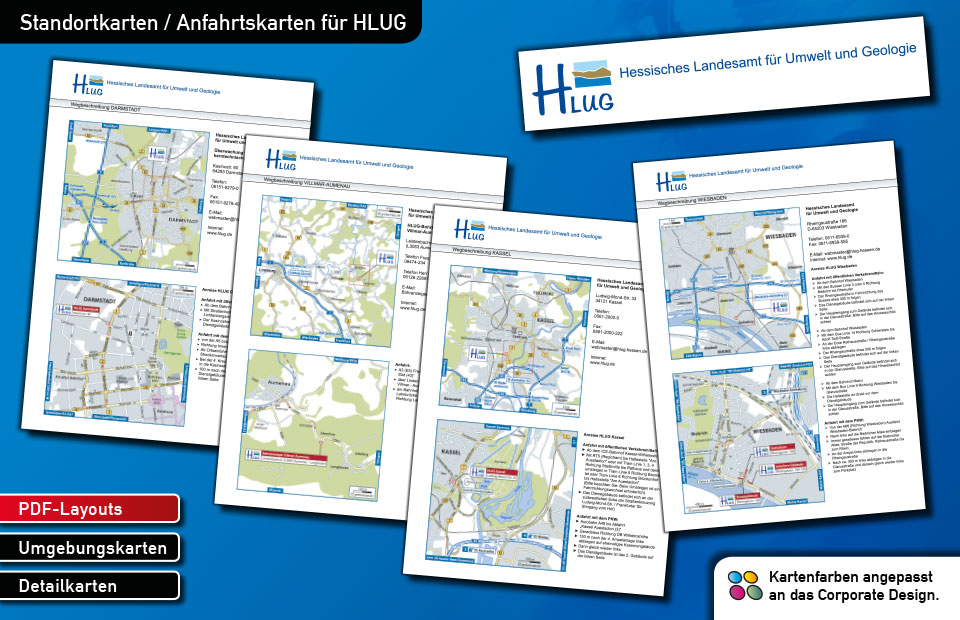 Standortkarten HLUG