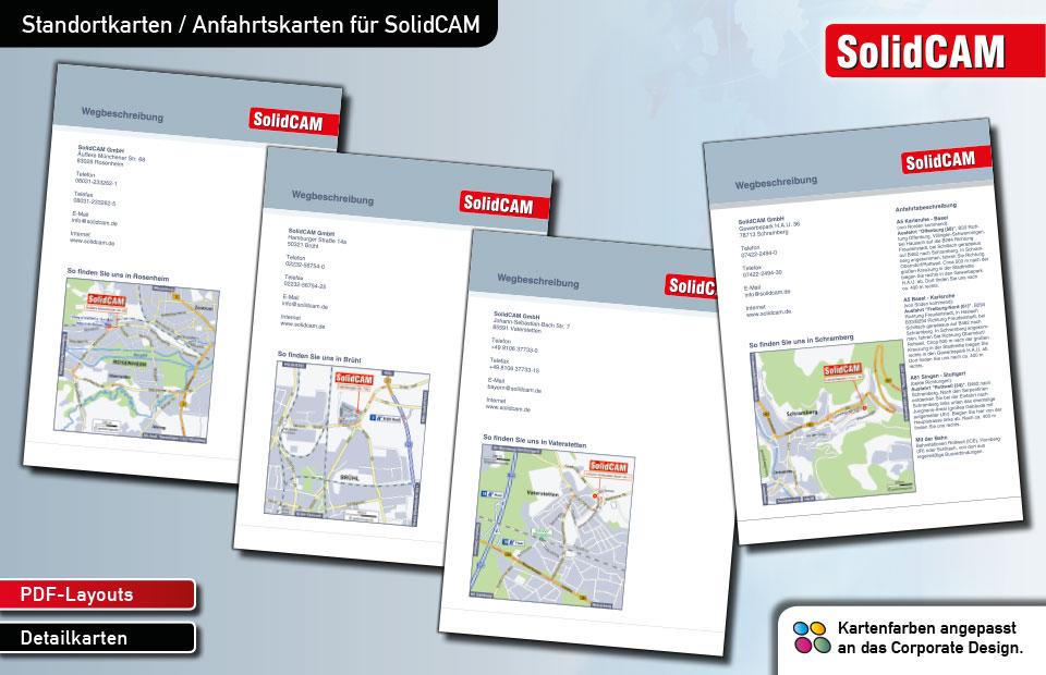 Standortkarten SolidCAM