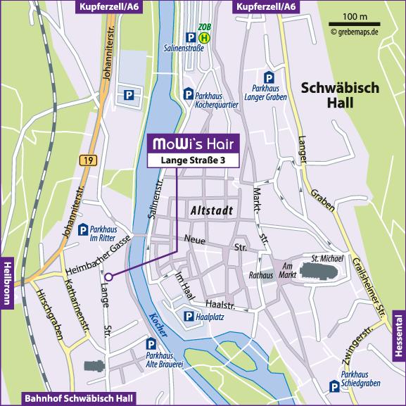 Lageplan erstellen Karte Schwäbisch Hall (MoWi's)