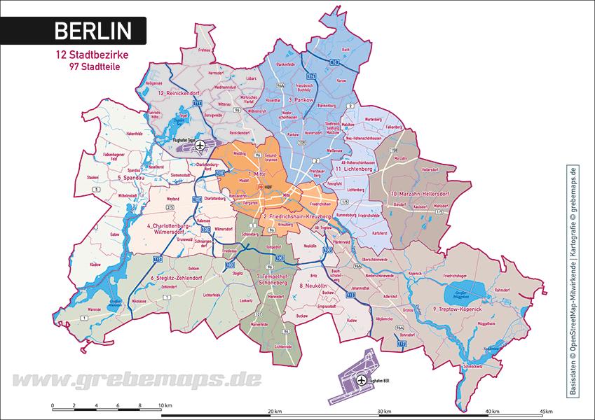 Berlin übersicht