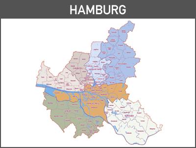 Vektorkarte Hamburg, Karte Hamburg Vektor, Vektor Karte Hamburg, Illustrator, Hamburg Stadtplan Übersicht, editierbare Karte Hamburg, Hamburg Karte, Hamburg Karte Stadtbezirke, Stadtbezirke, Karte Hamburg, download, AI, Vector map, Vektor, Vector, Vektordate