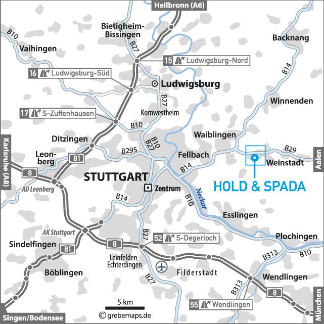 Übersichtskarte erstellen Stuttgart