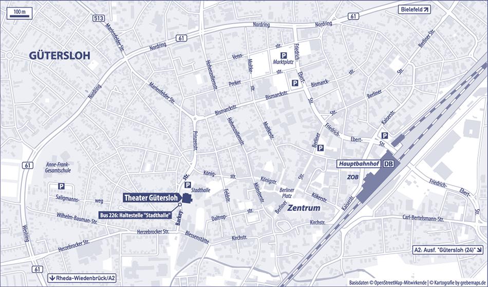 Standortkarte erstellen Gütersloh