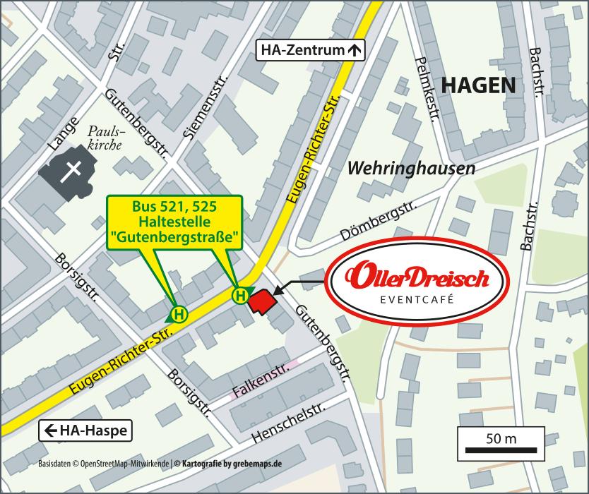 Lageplan erstellen Hagen