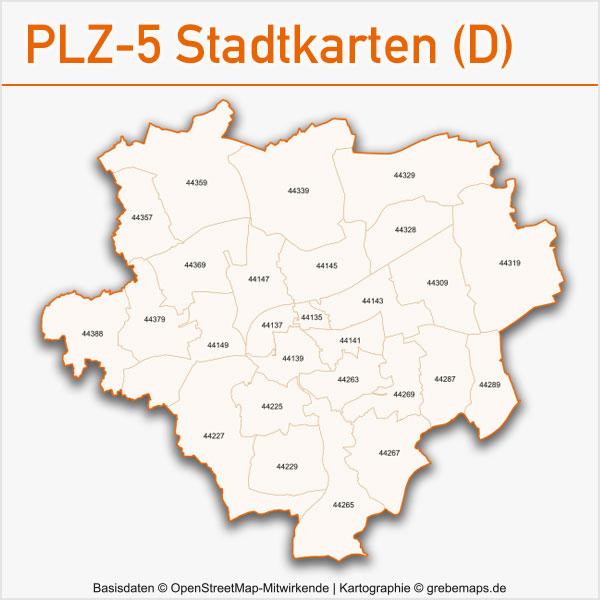 Postleitzahlen-Karten PLZ-5 Vektor Stadtkarten Deutschland, Karte PLZ Deutschland Städte, Karte Postleizahlen Stadt, München, Berlin, Hamburg, Köln u.a., AI-Datei, Vektorkarten