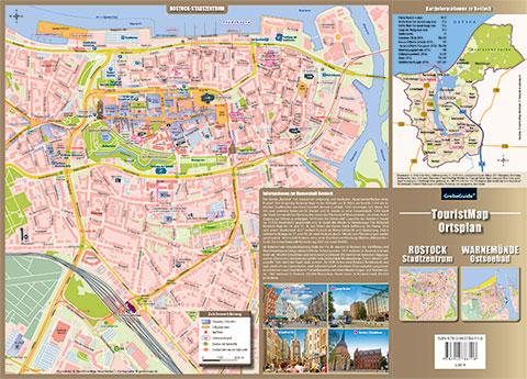 Stadtplan Rostock Zentrum Warnemünde