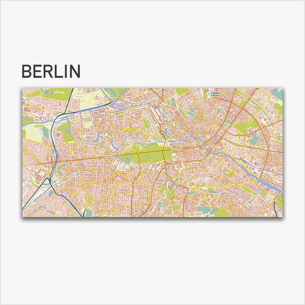 Karte Berlin-Zentrum Stadtplan mit Gebäuden Basiskarte Vektorkarte Berlin-Mitte Berlin-Zentrum Berlin-Innenstadt